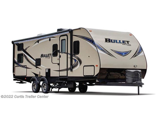 Stock Image for 2016 Keystone Bullet 243BHS (options and colors may vary)