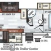 2019 Forest River Rockwood Ultra Lite 2707WS floorplan image