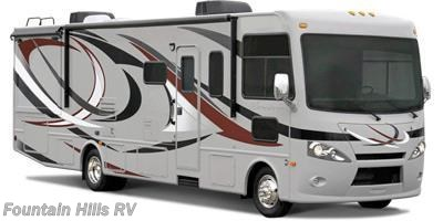 Stock Image for 2014 Thor Motor Coach Hurricane 34E (options and colors may vary)