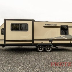 2019 Winnebago Minnie 2500FL  - Travel Trailer New  in Souderton PA For Sale by Fretz RV call 800-373-8902 today for more info.