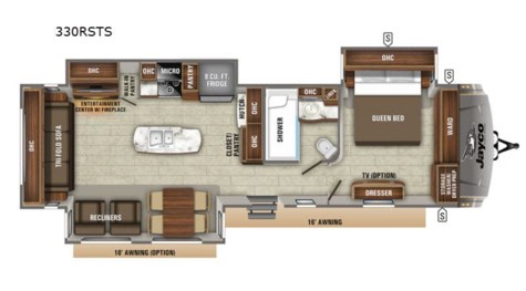New 2020 Jayco Eagle 330RSTS For Sale by Fretz RV available in Souderton, Pennsylvania