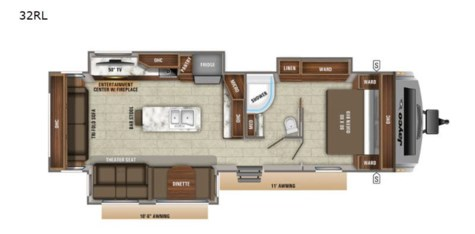 New 2021 Jayco White Hawk 32RL For Sale by Fretz RV available in Souderton, Pennsylvania