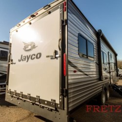 2021 Jayco Jay Flight SLX 8 265TH  - Toy Hauler New  in Souderton PA For Sale by Fretz RV call 800-373-8902 today for more info.