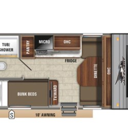 New 2021 Jayco Jay Flight SLX 7 154BH For Sale by Fretz RV available in Souderton, Pennsylvania