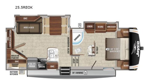 New 2021 Jayco Eagle HT 25.5REOK For Sale by Fretz RV available in Souderton, Pennsylvania