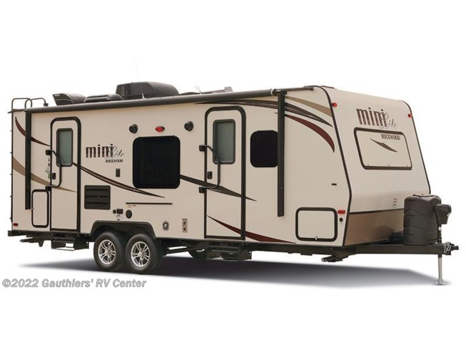 Stock Image for 2016 Forest River Rockwood Mini Lite 2506S (options and colors may vary)