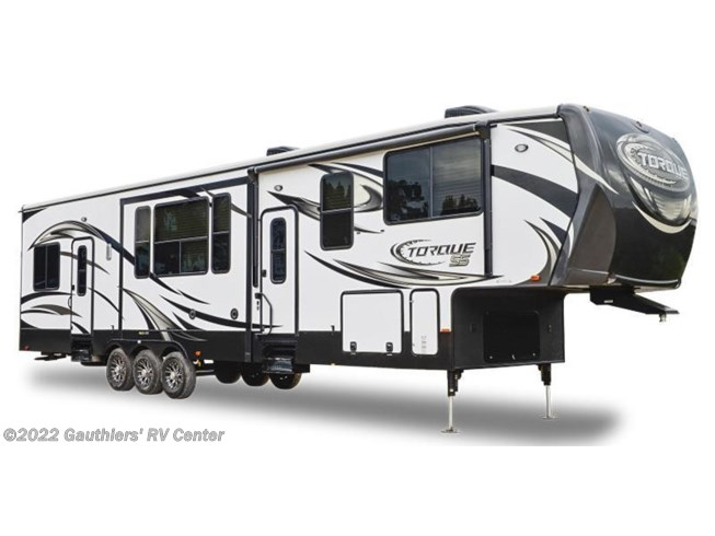 Stock Image for 2016 Heartland RV Torque TQ 365 (options and colors may vary)