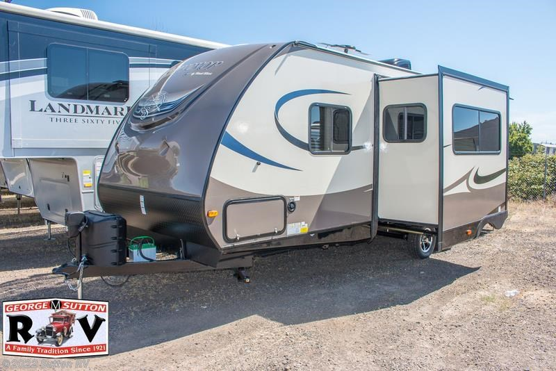 Luxury 2016 Forest River RV Surveyor Couples Coach 243RBS For Sale In Eugene OR 974