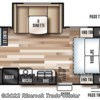 2019 Forest River Wildwood X-Lite 230BHXL floorplan image