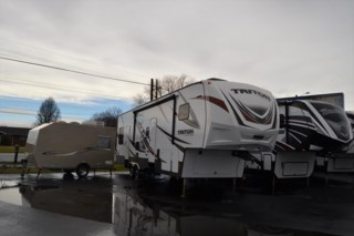 Milford, Delaware - New 2017 Dutchmen Voltage Triton 3451 available from Delmarva RV Center