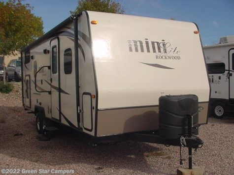 2016 Forest River Rockwood Mini Lite  2505S Bunkbeds