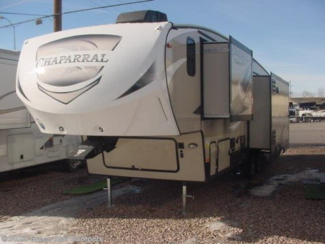 2017 Coachmen Chaparral Lite  30RLS Rear Living Room