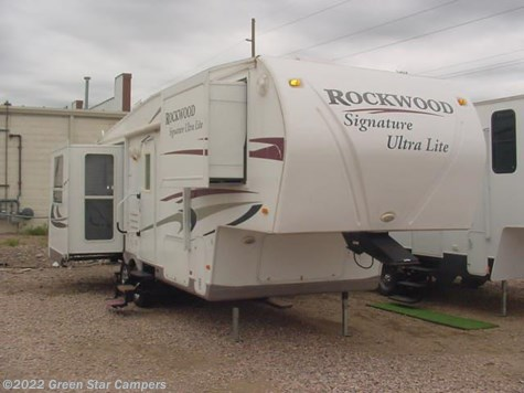 2010 Forest River Rockwood Signature Ultra Lite  8265WS Rear Living Room