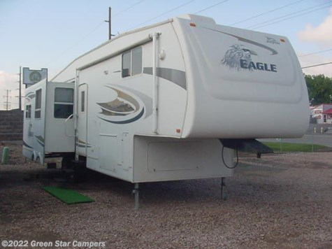 2007 Jayco Eagle Fifth Wheels  341RLQS Rear Livingroom