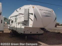 2014 Forest River Rockwood Signature Ultra Lite 8285WS Rear Living Room