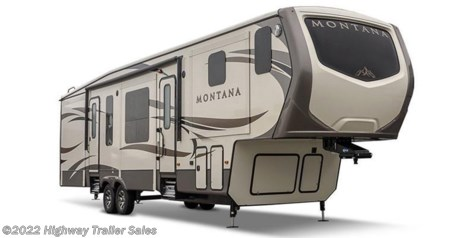 Stock Image for 2017 Keystone Montana 3730FL (options and colors may vary)