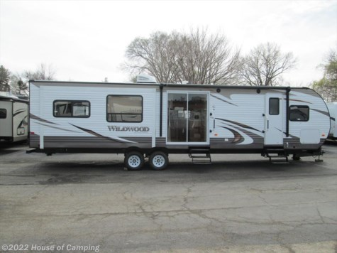 New 2016 Forest River Wildwood 38 RLT For Sale by House of Camping available in Bridgeview, Illinois
