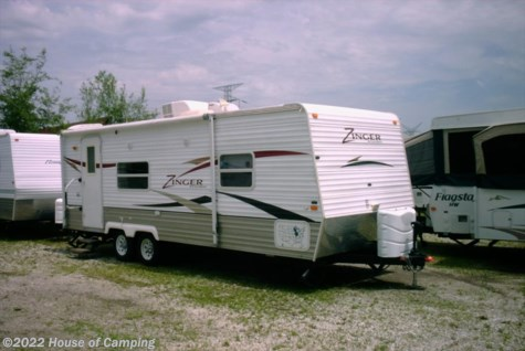 Used 2008 CrossRoads Zinger ZT25RK For Sale by House of Camping available in Bridgeview, Illinois