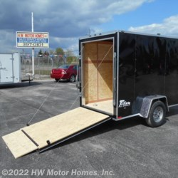 "2017 Stealth Titan 510  BLACK - plus 12"" height  - Cargo Trailer New  in Canton MI For Sale by HW Motor Homes, Inc. call 800-334-1535 today for more info."