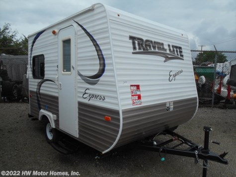 2015 Travel Lite Express  Express E14X- Rear Dinette - - Hybird