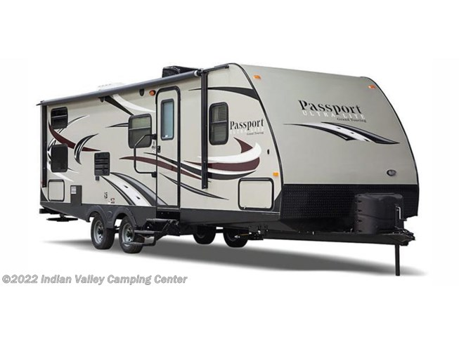 Stock Image for 2016 Keystone Passport Ultra Lite Grand Touring 2890RL (options and colors may vary)