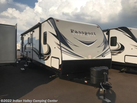 New 2018 Keystone Passport Ultra Lite Grand Touring 3350BH For Sale by Indian Valley Camping Center available in Souderton, Pennsylvania