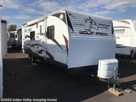 Used 2009 Forest River Cherokee Wolf Pack 27DFWP For Sale by Indian Valley Camping Center available in Souderton, Pennsylvania