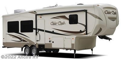 Stock Image for 2016 Forest River Cedar Creek Silverback 37MBH (options and colors may vary)