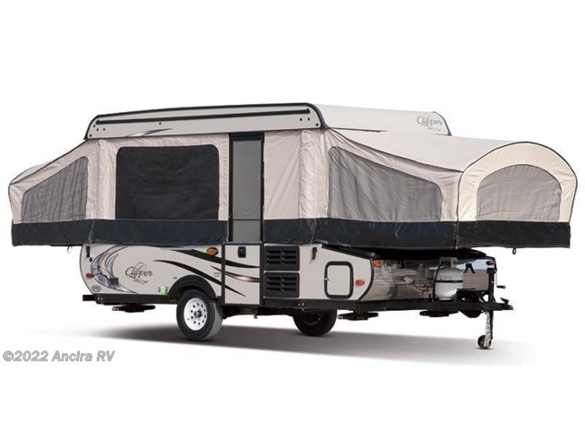 Stock Image for 2016 Coachmen Clipper Sport 128 ST (options and colors may vary)