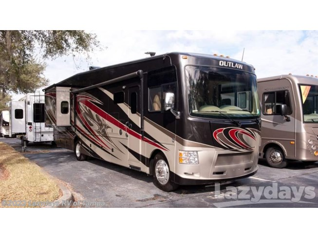 2016 thor motor coach rv outlaw 38re for sale in seffner