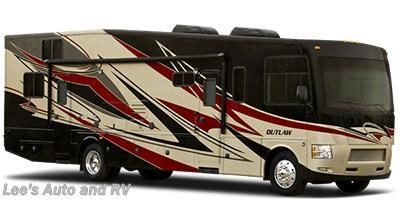 Stock Image for 2014 Thor Motor Coach Outlaw 37MD (options and colors may vary)