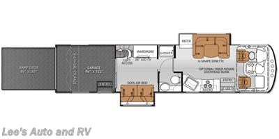 2014 Thor Motor Coach Outlaw 37MD floorplan image