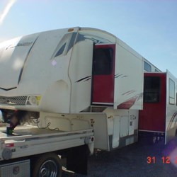 Louisville RV Center 2008 Fuzion 362  Toy Hauler by Keystone | Louisville, Kentucky