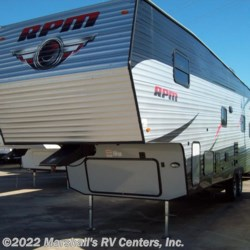 2018 RPM 33 5R17  - Toy Hauler New  in Kemp TX For Sale by Marshall's RV Centers, Inc. call 800-232-5885 today for more info.