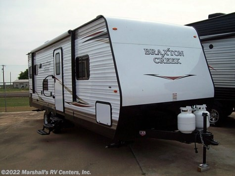 New 2019 Braxton Creek 24 RLS For Sale by Marshall's RV Centers, Inc. available in Kemp, Texas