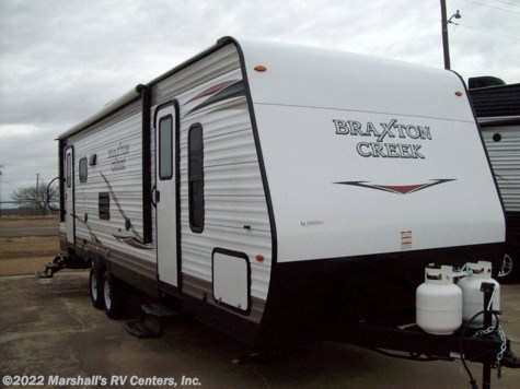 New 2019 Braxton Creek 270 RLS For Sale by Marshall's RV Centers, Inc. available in Kemp, Texas
