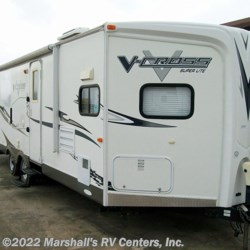 2012 Forest River V-Cross 27-VFK Super Lite  - Travel Trailer Used  in Kemp TX For Sale by Marshall's RV Centers, Inc. call 903-251-3186 today for more info.