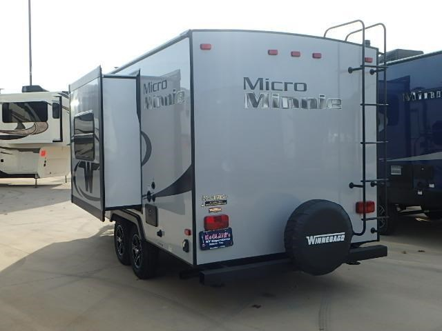 Brilliant 2016 Winnebago Micro Minnie 2106 FBS Travel Trailer Dewey AZ Affinity