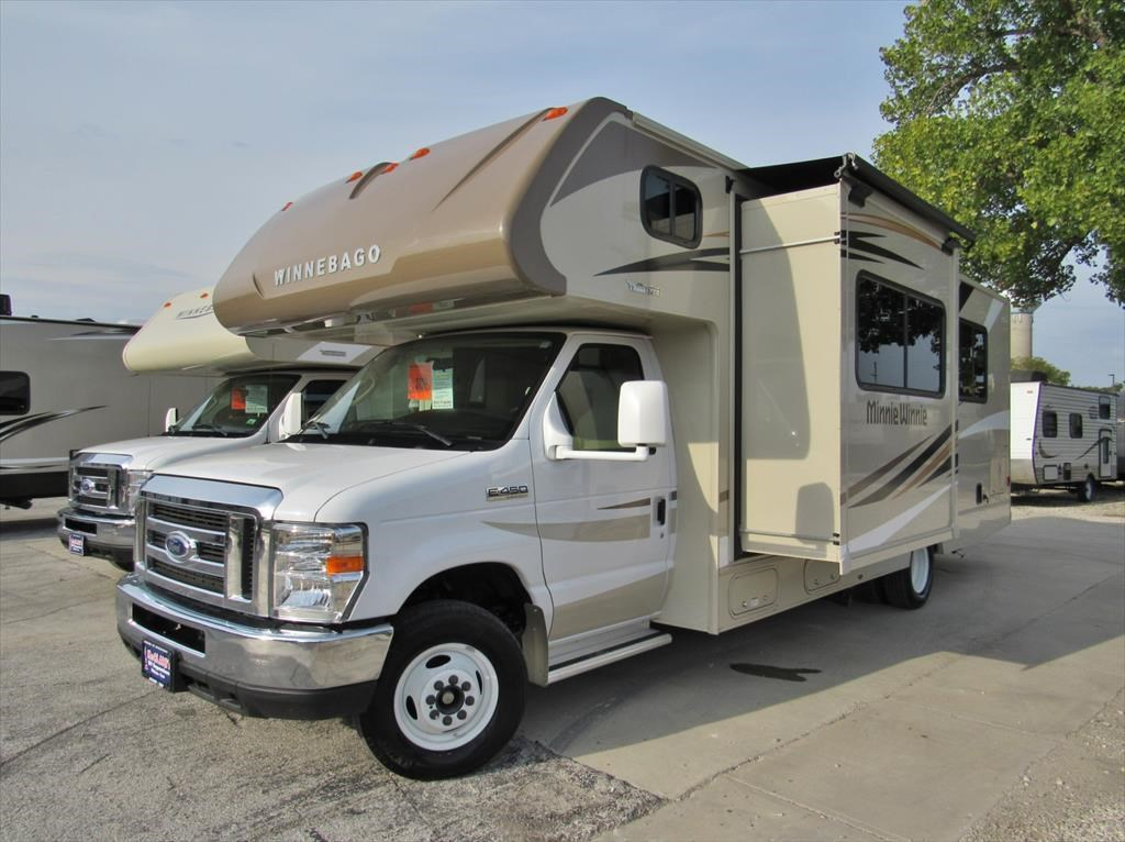 New 2018 Winnebago Minnie Plus 26RBSSTime To Go CampingWant Plus Storage Plus Living Space Plus Features? Then Come Home To The Minnie Plus Trailer Spacious Floorplans Begin With Residential Sized Queen Beds Full Depth Slide Outs And