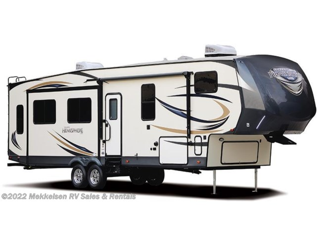 Stock Image for 2016 Forest River Salem Hemisphere Lite 346RK (options and colors may vary)