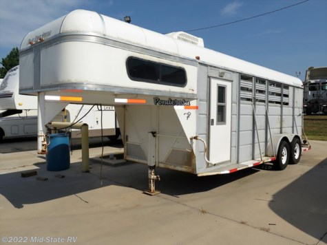 2002 Ponderosa Trailers  Trail Rider Special