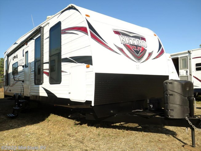 2014 forest river rv xlr nitro 28tqd for sale in byron ga for Toy hauler fish house