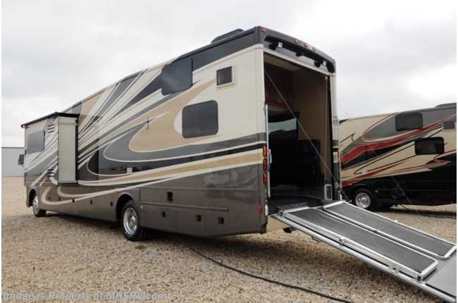 New 2014 thor motor coach outlaw for Class a rv with car garage
