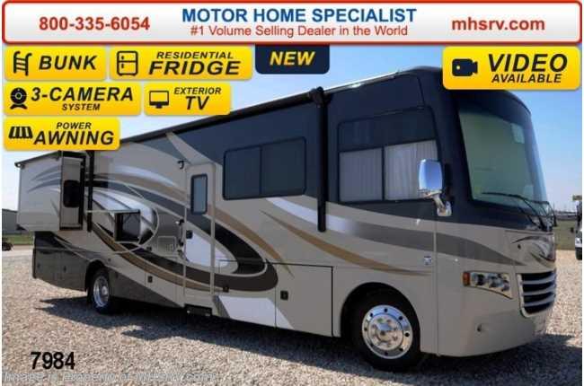 Perfect New 2014 Thor Motor Coach Miramar 343 Bunk Model WKing OH Bunk 22K