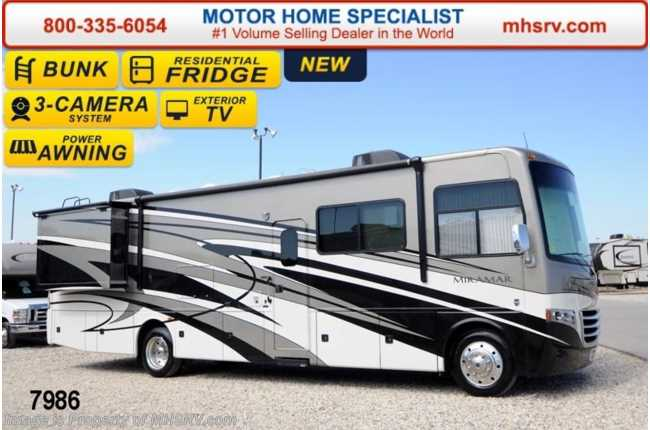 Innovative New 2014 Thor Motor Coach Miramar 343 Bunk House WKing OH Bunk