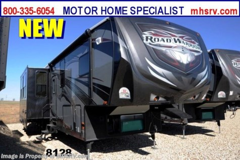 "New 2014 Heartland RV Road Warrior RW410 W/3 Slides, 50"" TV, Auto Leveling, 3 A/Cs For Sale by Motor Home Specialist available in Alvarado, Texas"