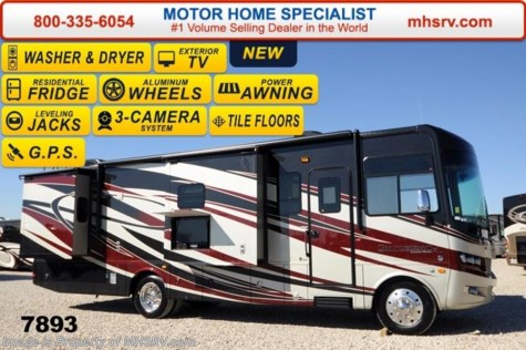 New 2014 Forest River Georgetown XL 334 W/4 Slides, Ext. TV, GPS, Tile, W/D For Sale by Motor Home Specialist available in Alvarado, Texas