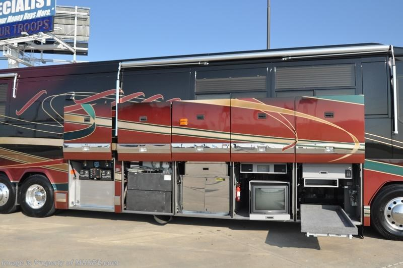 New and used prevost rv for sale travel trailers for Motor home specialist inc alvarado texas