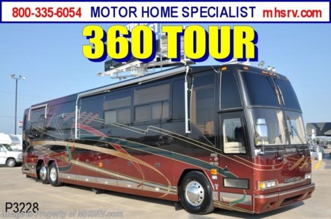 Used 2001 Prevost H3-45 Country Coach Used RV for Sale For Sale by Motor Home Specialist available in Alvarado, Texas
