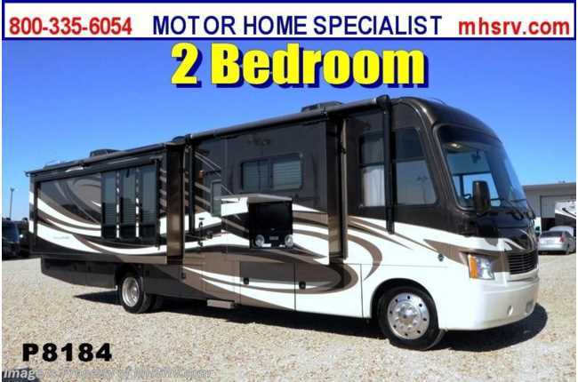 Used 2013 thor motor coach challenger for Motor coaches with 2 bedrooms